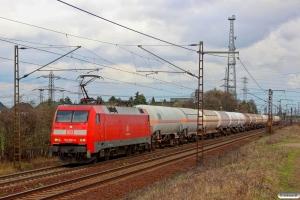 DB 152 038-6. Ahlten 21.03.2014.