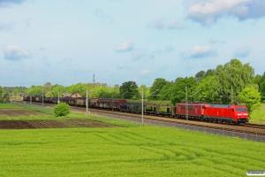 DB 152 041-0+155 192-8. Radbruch - Bardowick 10.05.2014.