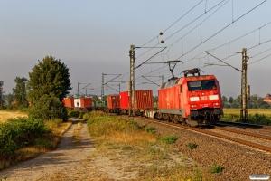 DB 152 093-1. Elze - Nordstemmen 14.08.2019.
