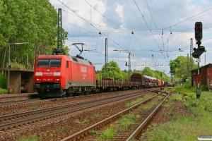 DB 152 095-6. Radbruch 16.05.2009.