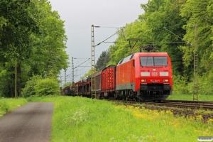 DB 152 114-5. Eystrup - Dörverden 08.05.2014.