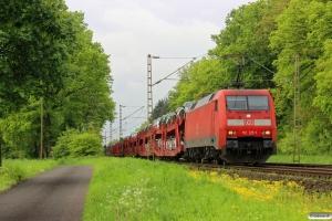 DB 152 125-1. Eystrup - Dörverden 08.05.2014.
