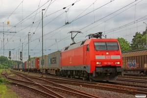 DB 152 132-7. Verden 08.05.2014.