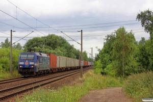 DB 152 135-0. Hamburg-Moorburg 08.08.2013.