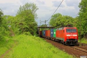 DB 152 151-7. Ahlten 09.05.2014.