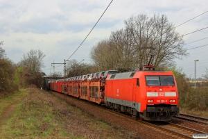 DB 152 159-0. Ahlten 21.03.2014.