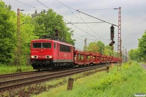 DB 155 126-6. Dörverden - Eystrup 08.05.2014.