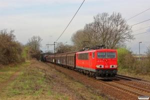 DB 155 151-4. Ahlten 21.03.2014.