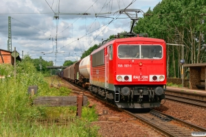DB 155 157-1. Radbruch 13.06.2008.