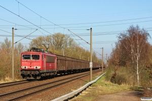 DB 155 159-7. Hamburg-Moorburg 20.03.2014.