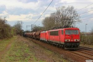 DB 155 175-3+185 340-7. Ahlten 21.03.2014.