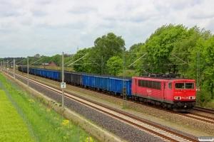 DB 155 236-3. Radbruch - Bardowick 10.05.2014.