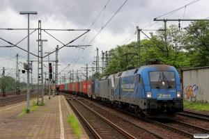 MWB 182 912-6+EVB 193 804-2. Hamburg-Harburg 10.05.2014.