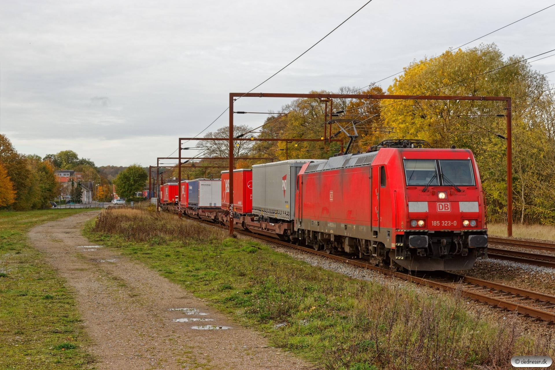 DB 185 323-0 med GD 39912 Pa-Mgb. Årup 19.10.2019.