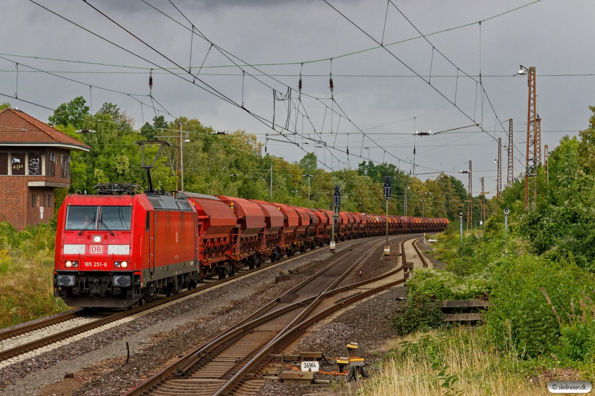 DB 185 251-6. Banteln 13.08.2019.