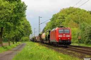 DB 185 046-0. Eystrup - Dörverden 08.05.2014.
