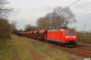 DB 185 065-0. Ahlten 21.03.2014.