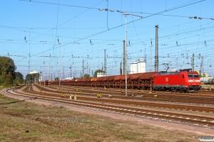 DB 185 138-5. Hamburg-Hohe-Schaar 10.10.2015.