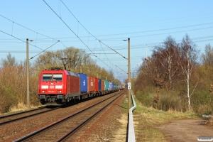 DB 185 201-1. Hamburg-Moorburg 20.03.2014.
