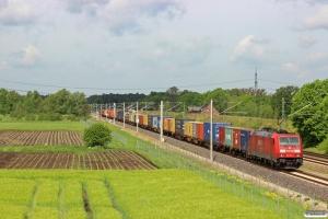 DB 185 273-0. Radbruch - Bardowick 10.05.2014.
