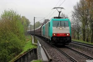 VPS E 186 131+E 186 126. Hamburg-Moorburg 15.04.2017.
