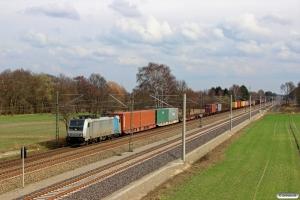 METRANS E 186 275. Bardowick - Radbruch 22.03.2014.