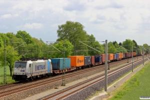 METRANS E 186 291. Bardowick - Radbruch 10.05.2014.