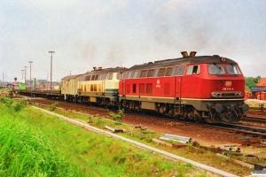 DB 218 176-6+218 168-3. Westerland 15.06.1991.