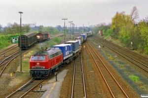 DB 218 182-4. Lübeck 31.03.1990.