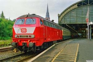 DB 218 331-7. Lübeck 12.08.1989.