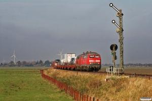 DB 218 363-0+218 319-2 med AS 1427. Lehnshallig 22.10.2011.
