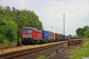 DB 232 201-4 med EZ 47410. Lindholm 03.08.2014.