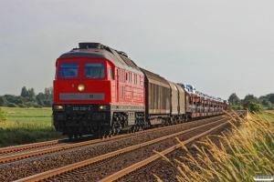 DB 232 230-3 med EZ 47414. Lunden - Friedrichstadt 18.07.2015.