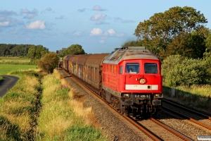 DB 232 428-3 med EZ 47415. Friedrichstadt - Lunden 18.07.2015.