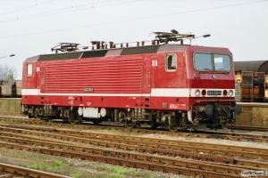 DR 243 232-6. Ludwigslust 16.10.1990.