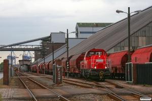 DB 261 034-3. Hamburg-Hohe-Schaar 28.08.2012.