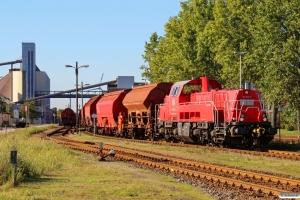 DB 261 036-8. Hamburg-Hohe-Schaar 10.10.2015.