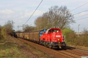 DB 261 075-6. Ahlten 21.03.2014.