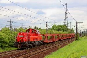 DB 261 076-4. Ahlten 09.05.2014.