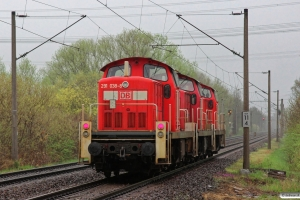 DB 290 522-2+290 632-9+291 038-8. Hamburg-Moorburg 26.04.2013.