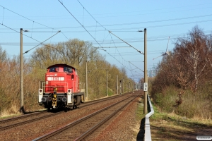 DB 294 809-9. Hamburg-Moorburg 20.03.2014.
