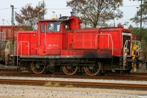 DB 363 719-6. Maschen 18.10.2008.