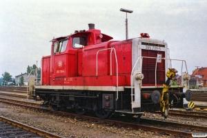 DB 365 709-5. Büchen 12.08.1989.