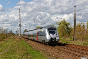 DB 1442 303+1442 803 som RB 16483. Königsborn 14.04.2017.