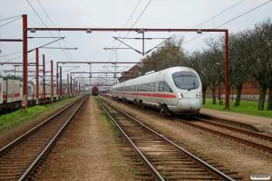 DB 605 507-3+605 207-0+605 107-2+605 007-4 som EC 387 Fa-Pagr. Padborg 26.04.2008.