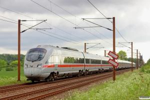 DB 605 519-7+DB 605 514-8+DB 605 504-9 som IE 381 Ar-Pa. Km 5,0 Fa (Fredericia-Taulov) 29.05.2014.