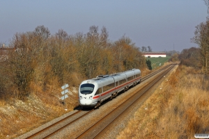DB 605 504-9+605 204-6+605 104-8+605 004-0 som IE 34 Kh-Rf. Km 66,6 Kh (Ringsted-Glumsø) 19.03.2015.