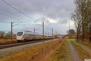 DB 605 017-2+DB 605 007-3 som M 6467 Hgl-Pa. Km 50,0 Fa (Farris-Sommersted) 11.12.2016.