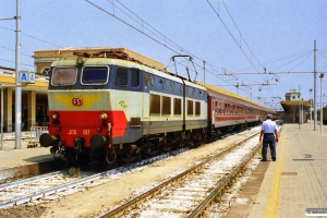 FS E 656 097. Catania C. Le 10.08.1998.
