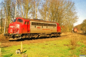 CFLCD MY 1154 og MX 1029. Fruens Bøge 17.03.2007.